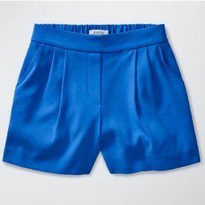 Aritzia Babaton High Waist Cohen Short Terado Blue